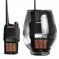 """מכשיר הקשר שני איכות גבוהה Baofeng UV-9R פלוס מכשיר הקשר IP68 8W Waterproof 10 ק""""מ טווח Dual Band UHF VHF שני הדרך רדיו Comunicador סורק (2)"""