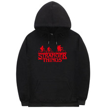 Stranger Things Hoodies Mens Autumn Desinger Sweatshirts Womens Pullover Long Sleeve Letter Print Homme Clothing