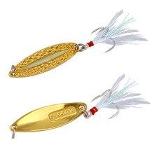 lure bait super leeches sequins blood trough feathers noctilucente long shot