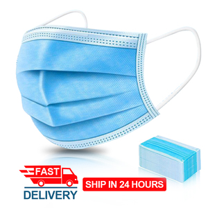 Image 2 - Respiratory Mask Anti Dust Disposable Face Masks 3 Layer Filter Face Protection Mouth Masks Breathable Earloop Mask