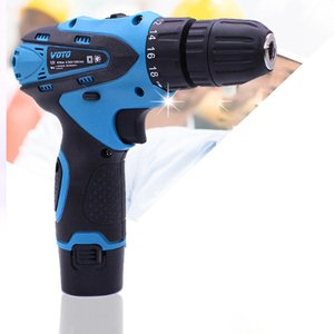 12v Multifunctional Electric Hand Drill Household Cordless Screwdriver Drill Rechargeable Power Tools Screwdriver