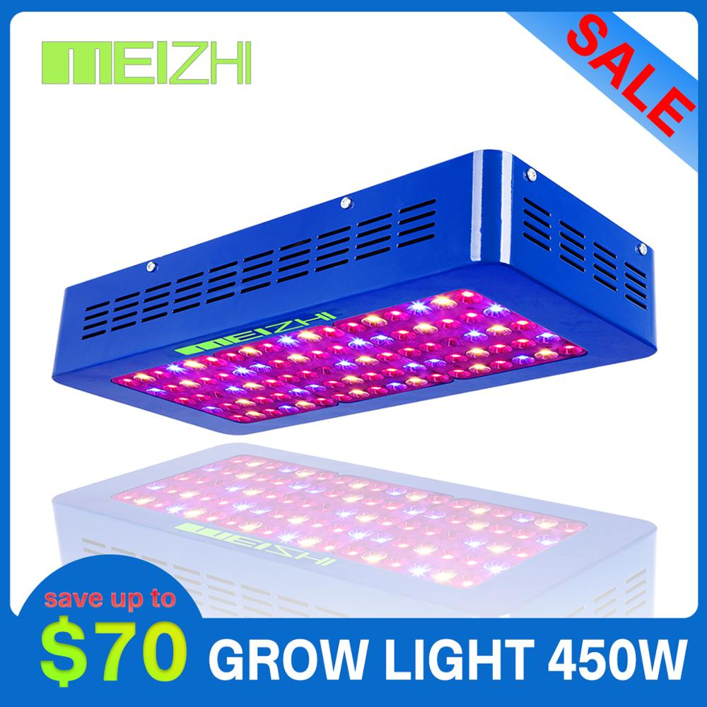 MEIZHI Reflector LED 450W Grow Light Full Spectrum Indoor Hydroponics Plant Growing Light For Gaden Greenhouse