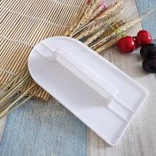 1 шт. глазурь помадка украшения торта сахарное ремесло глазурь плесень пластиковый торт более гладкий полировщик инструменты