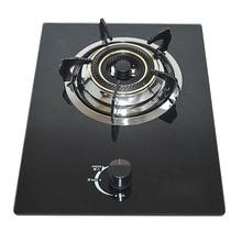 Газовая плита, СЖИЖЕННАЯ газовая плита, бытовая закаленное стекло, Встроенный импульсный зажигание, медная крышка огня, одинарная плита
