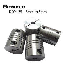 Shaft Coupling Flexible Coupler for Motors Aluminum Alloy Diameter 20MM/25MM CNC Motor Connector