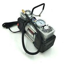 car air pump cylinder high-power air pump 12v dual cylinder multi-function multi function air pump blue