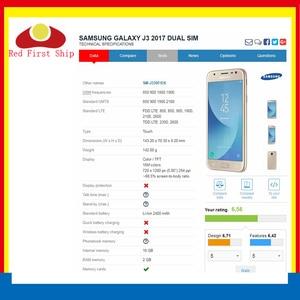Image 3 - 10 sztuk/partia ekran dotykowy do Samsung Galaxy J3 PRO 2017 J330 J330F SM J330FN SM J330F/DS Panel dotykowy przedni zewnętrzny obiektyw LCD szkła