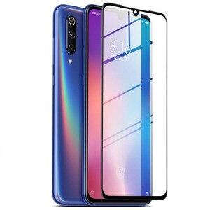Image 2 - 50 قطعة التغطية الكاملة 9D الزجاج المقسى ل Xiaomi A3 لايت مي A2 A1 5X 6X Mi7 اللعب ملاحظة 3 بوكو X3 X2 F1 F2 شاشة حامي فيلم