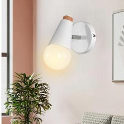 2019 nowy styl skandynawski kinkiet żelaza sztuki korytarz korytarz alejek lampka nocna do sypialni temperatura barwowa ciepłe oświetlenie wewnętrzne w Wewnętrzne kinkiety LED od Lampy i oświetlenie na