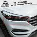 2 шт./компл. Автомобильная фара для бровей ABS Хромированная Крышка для стайлинга автомобиля внешняя отделка для Hyundai Tucson 2015 2016 аксессуары