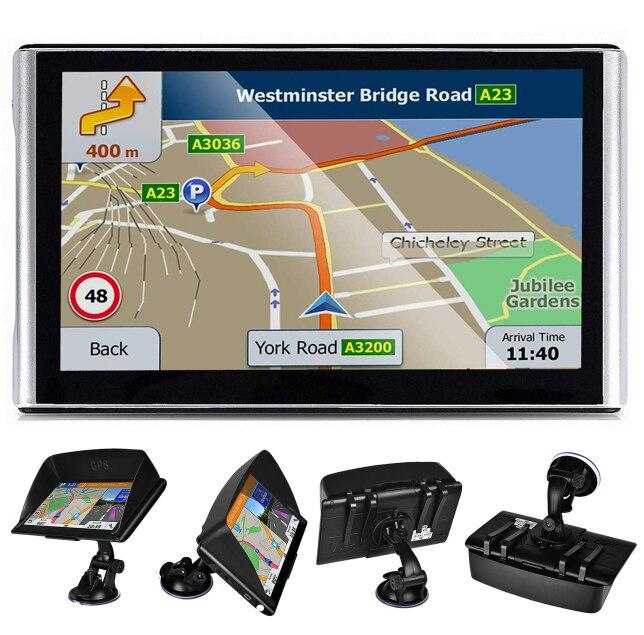 GPS navigation7 zoll Tourist navigator256MB kapazitiven bildschirm satellite gps explorer carGPSrobot Dashboard navigation neueste Eur