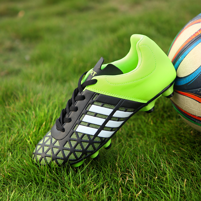 Football shoes 33 yards children and adolescents adult men and women large size broken nails nails flat training shoes woodland