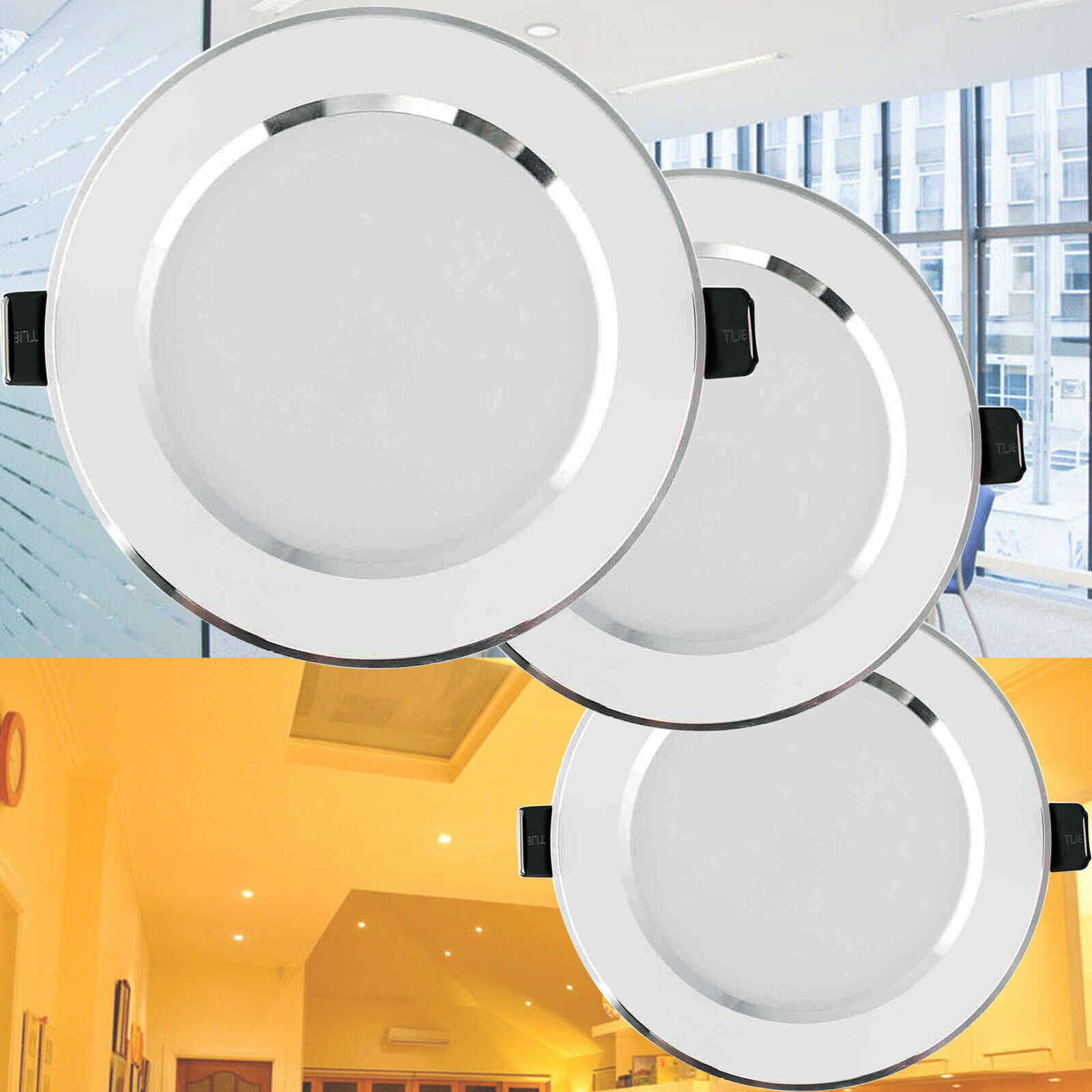 Image of: Dimmable 8w 15w 12w 9w 7w 5w 3w Led Recessed Ceiling Light Downlight Lamp 110v 220v With Driver Indoor Lighting Lamps For Home Led Downlights Aliexpress