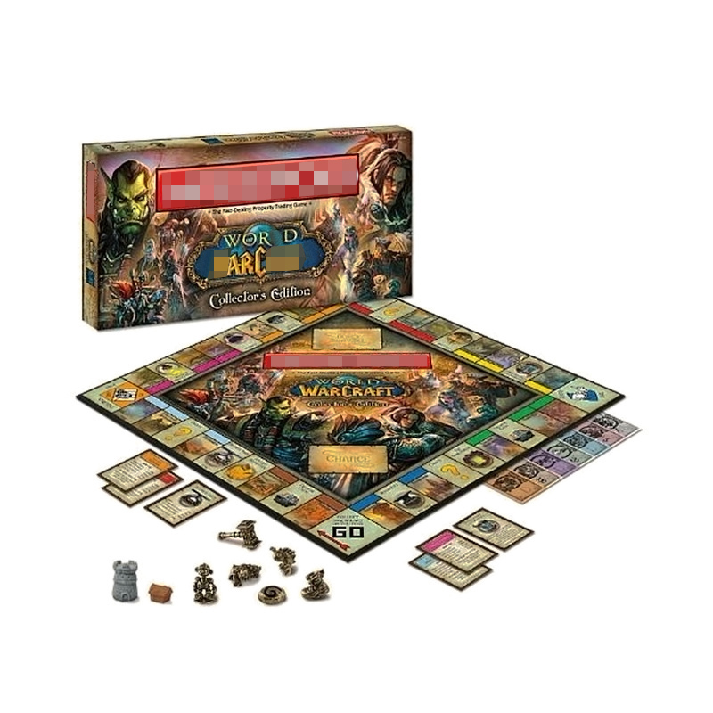 Board Game World War Craft Monopoli Game Collector's Edition Board Game Set Brand New Sealed