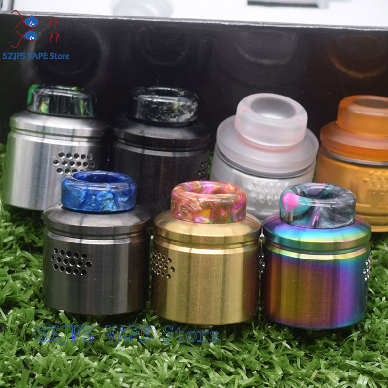 Profil RDA Tank 24mm Diameter Rebuidable Mesh Coil RDA 510 Thread Dripper Tank For 510 Thread Box Mods Vape Pen Phobia V2 RDA