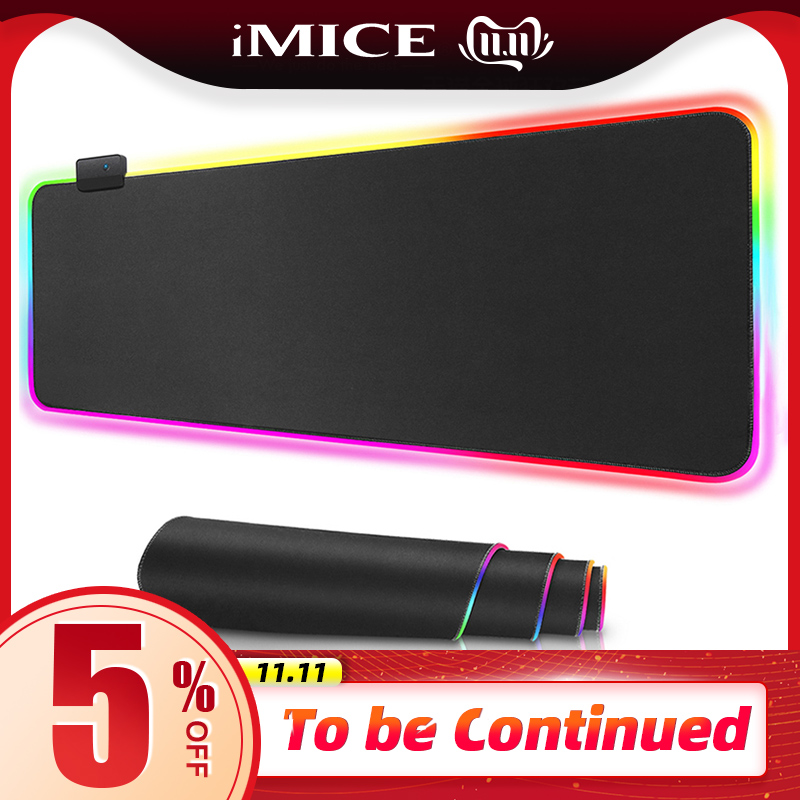 RGB Mouse Pad Gaming Mouse Pad Large Computer Mouse Pad Gamer XXL Mousepad Backlight Mause Pad 900x400 Surface Keyboard Desk Mat