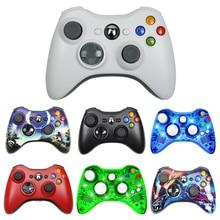 สำหรับ Xbox 360 2.4G Wireless Controller คอมพิวเตอร์ PC ตัวรับสัญญาณไร้สายระยะไกลสำหรับ Microsoft Xbox360จอยสติ๊ก Controle