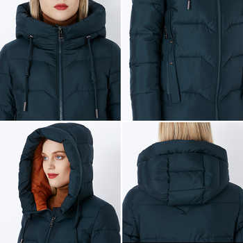 MIEGOFCE 2019 Winter Women Collection Stylish and Fashionable Bio fluff Outerwear Collection Warm Long Coat From Bio Fluff Sale