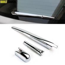 Для Mitsubishi ASX Outlander Sport RVR 2011 2012 2013 хромированная Щетка стеклоочистителя на заднее стекло, накладка, отделка, Молдинг