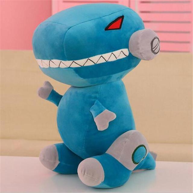 Cute Soft Cartoon Robot Dinosaur Shape Plush Toy for Kids