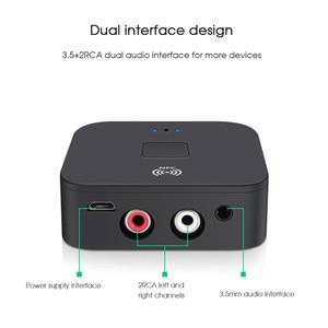 Image 5 - KEBIDU NFC Bluetooth 5.0 Receiver NFC 3.5mm AUX 2RCA Jack Hifi Wireless Adapter 3.5 Audio Receiver Auto On/OFF Bluetooth Adapter