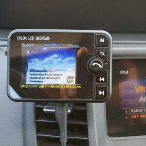 Image 4 - MINI DAB วิทยุบลูทูธ MP3 เครื่องเล่นเพลง FM Transmitter ADAPTER ที่มีสีสันหน้าจอ LCD สำหรับรถยนต์อุปกรณ์เสริม
