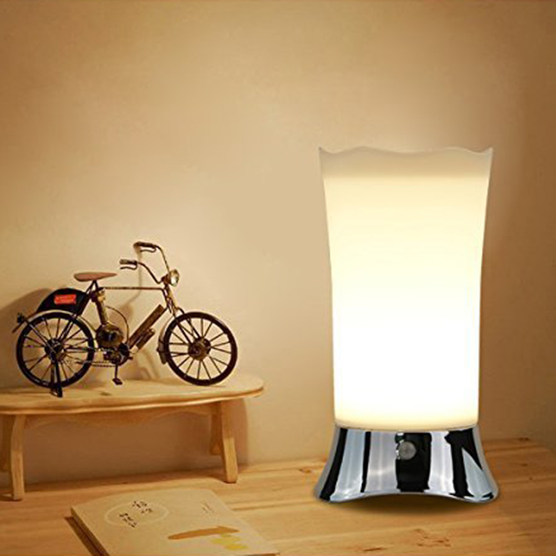 Table Lamps/Indoor Motion Sensor LED Night Light, Portable Retro Battery Powered Light For Bedroom, Bathroom, Baby Room