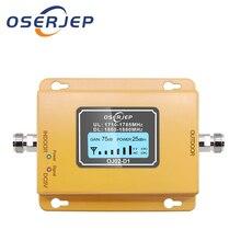 Lte Gsm 1800 Impulsionador Display LCD 70dB Ganho 2g 4g LTE DCS 1800MHz Móvel Impulsionador Do Telefone Celular telefone Amplificador de Sinal GSM Impulsionador