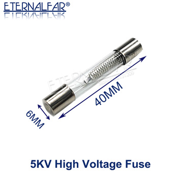 5KV Special Microwave Oven Fuse 6*40mm 0.65A 0.7A 0.75A 0.8A 0.85A 0.9A 1A Glass Tube Fuse 5000V 700MA 6x40mm High-Pressure Fuse 5kv 0 85a high voltage fuse for microwave ovens universal fuse holder microwave oven repair parts accessories