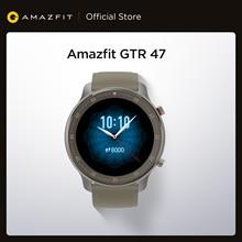 Global Versie Amazfit Gtr 47Mm Smart Horloge 5ATM Nieuwe Smartwatch 24 Dagen Batterij Music Control Voor Android Ios Telefoon