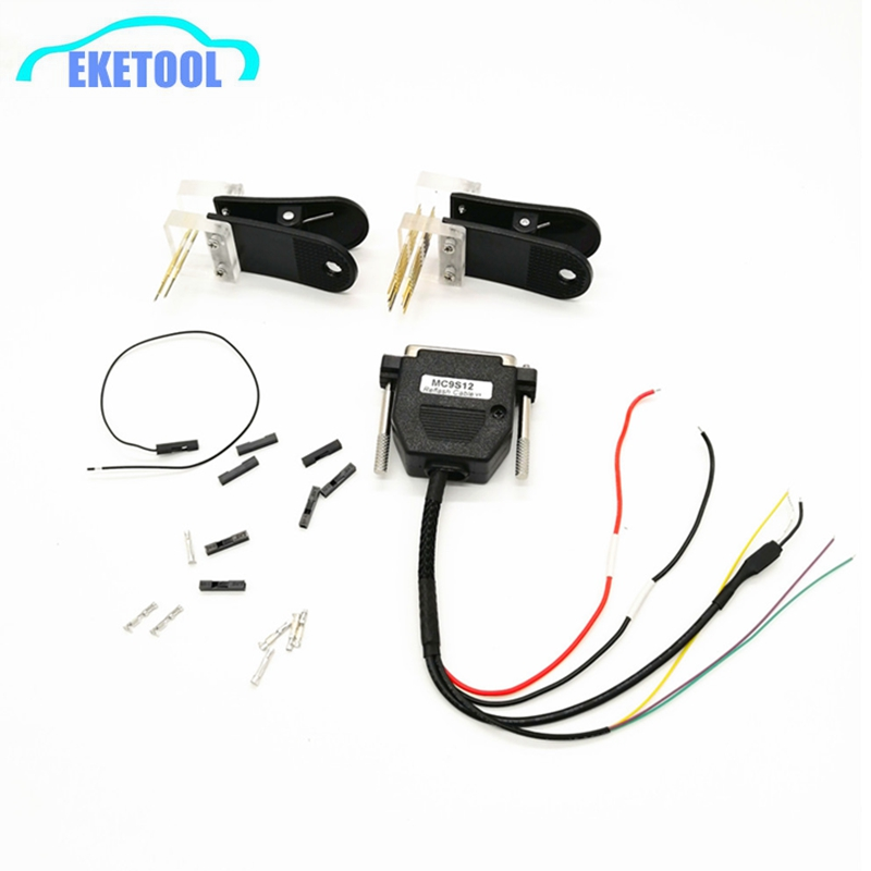 For BMW CAS4 Data Reading Socket CAS4-5M48H-1N35H With Reflash Cable MSMC9S12 Works VVDI Prog Without Soldering