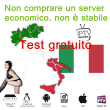 IPTV Italia Subscription Italy M3U list for smarters TV box Android 10 Phone Smart No APP Include
