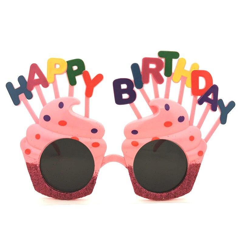 Baby Birthday Party Party Glasses Gift Happy Birhapp Birthday Toy