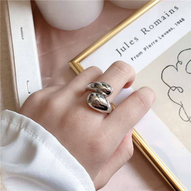 Фото женские кольца на палец xiyanike винтажные креативные витые цена