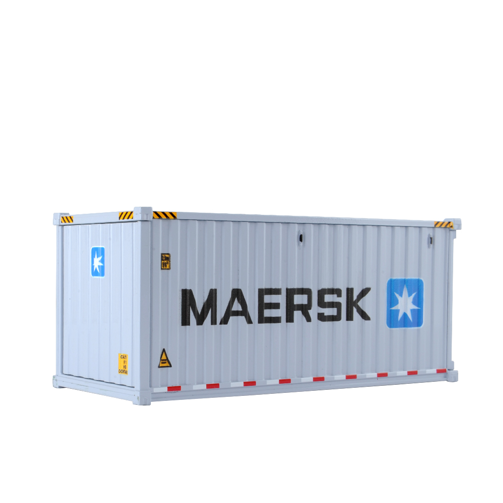 1/50 Scale 20' Dry Goods Sea Container -Transport Series Diecast Masters Real Replicas 91025E Model