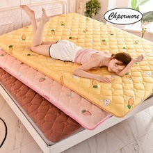Cover Mattress Tatami Foldable King Chpermore Queen-Size Cotton Children Thicken Double-Student
