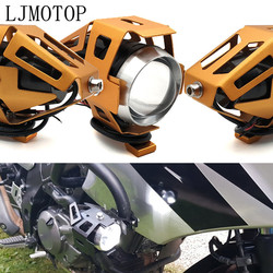 Reflektory led motocyklowe U5 12V dekoracyjna lampa reflektor dla TRIUMRH TIGER 800/XC trofeum/SE TT 600 tygrys 800 XC/XCX/XR/XRX na