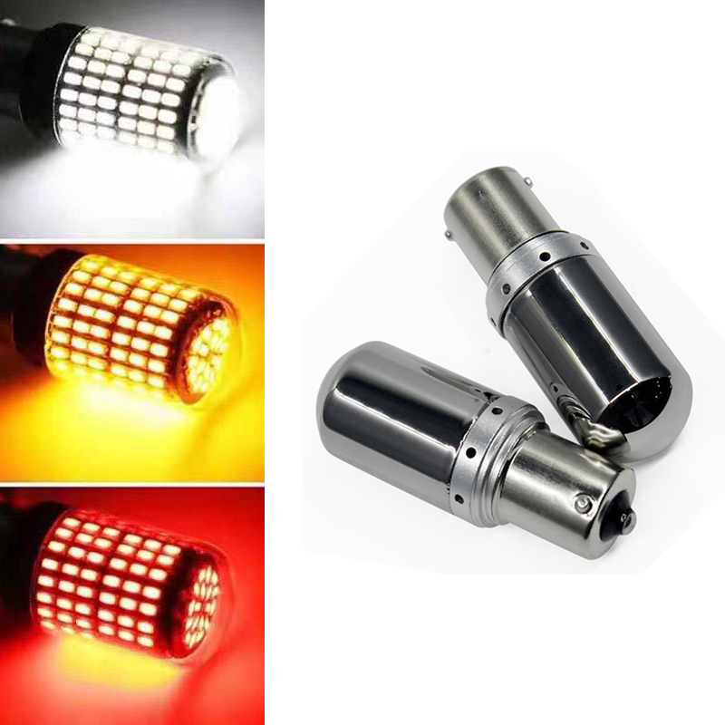 W21W BA15S PY21W Car Parking Reserve Lights 1156 S25 7440 Auto Led Tail Light For Mercedes W203 W211 W204 W210 Benz BMW F10 E34