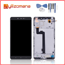 1920x1080 Original For XIAOMI Mi Max LCD Touch Screen Digitizer Assembly for Display with Frame Replacement
