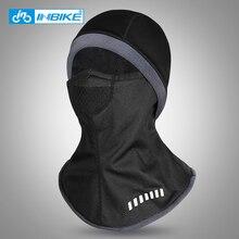 INBIKE зимняя велосипедная шапка Флисовая теплая ветрозащитная велосипедная Балаклава для нанесения маски на лицо Лыжная Рыболовная Шапка для катания головной убор
