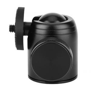 360 Degree Rotatable Mini Ball Head 1/4