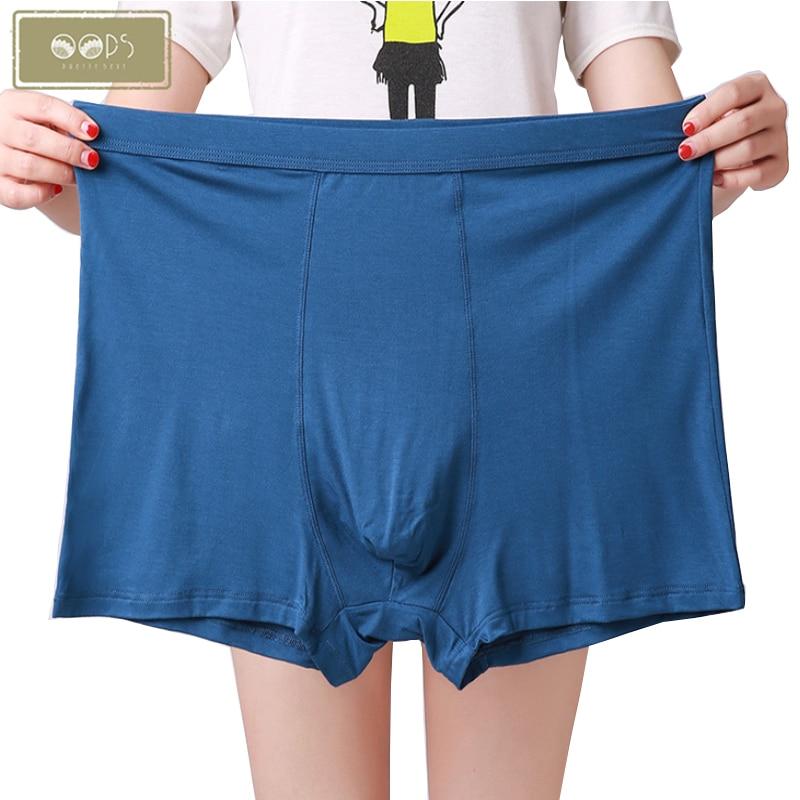 3XL-7XL Plus Men's Breathable Underwear Plus Fat Boxers Pants Men Comfortable Boxer Underpants Male Man Soft Shorts Panties