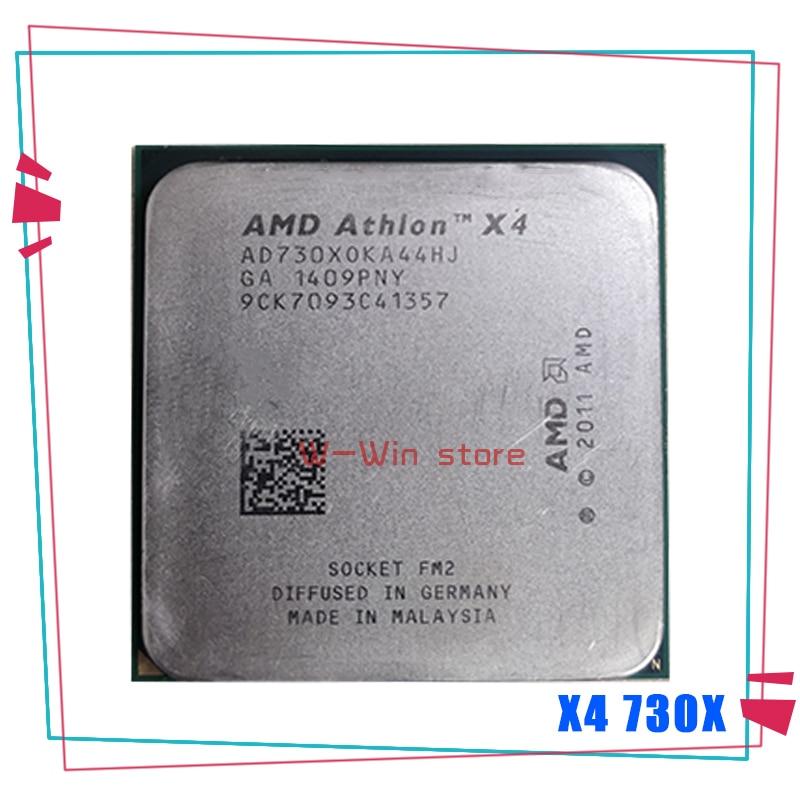 Четырехъядерный процессор AMD Athlon X4 730x4 730x2,8 ГГц AD730XOKA44HJ Socket FM2
