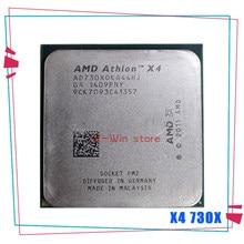 Amd athlon x4 730x4 730x2.8 ghz quad-core processador cpu ad730xoka44hj soquete fm2
