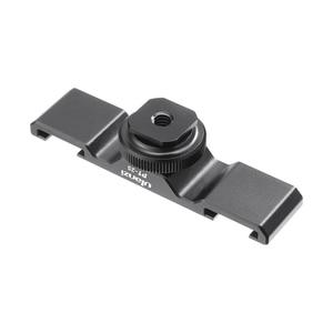 Image 4 - Ulanzi PT 2S DSLR Kamera Verlängern Dual Kalt Schuh Halterung Smartphone Vlog Montieren Platte Mikrofon LED Licht Halter