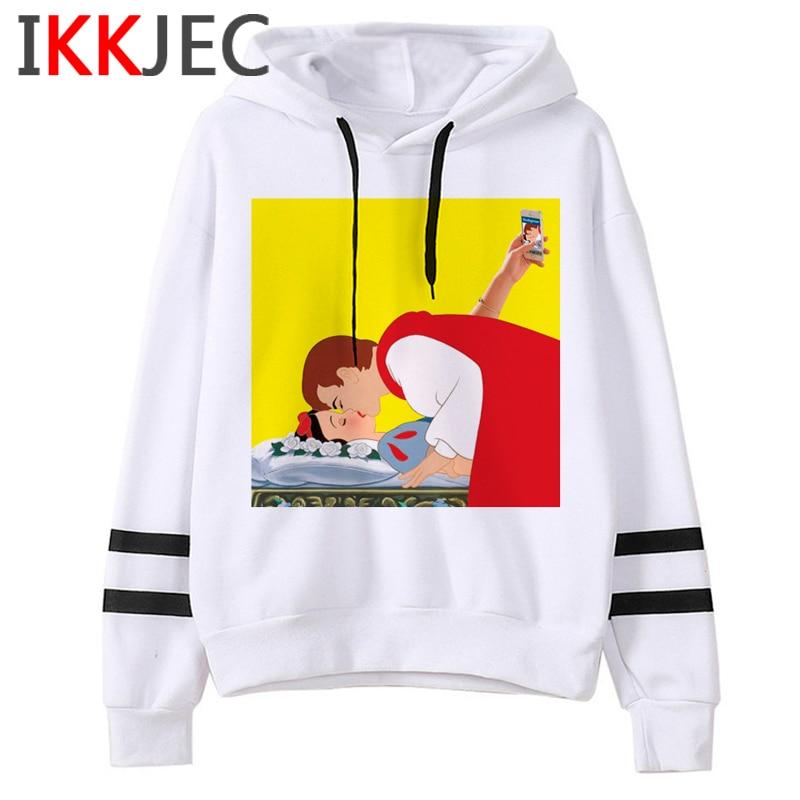 Aesthetic Harajuku Funny Cartoon Hoodies Women/men Grunge Princesses Vintage Sweatshirt 90s Graphic Fashion Hoody Female/male 21