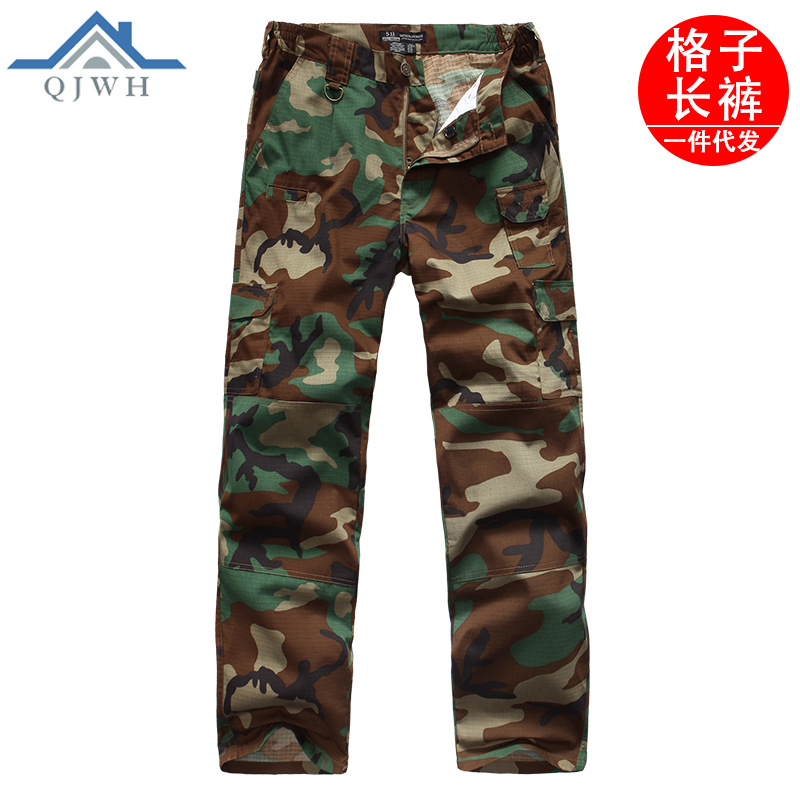 Outdoor Army Fans 511 Army Fans Trousers Men's Pure Cotton Special Forces Slim Fit Ix7 Tactical Pants Bib Overall Outdoor Traini
