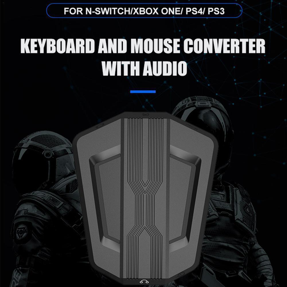 Игровая клавиатура мышь конвертер адаптер мышь клавиатура контроллер подходит для PS4/PS3 One 360/N-Switch
