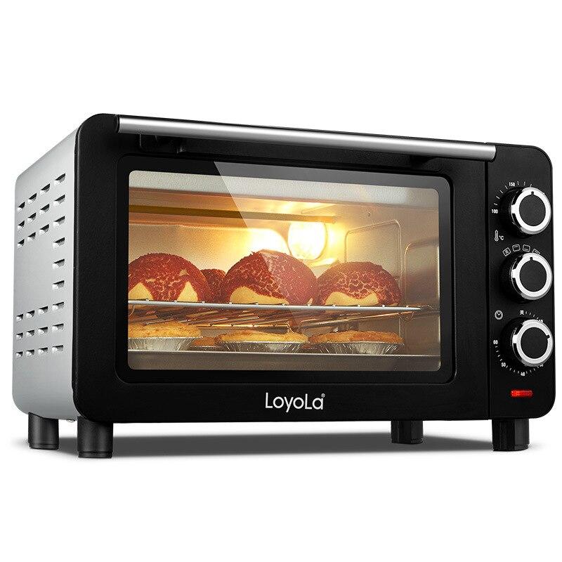 15L 1200W petit four grille-pain multifonction ménage mini-cuisson électrique four à gâteau 9 pouces pizza maker appareils de cuisine