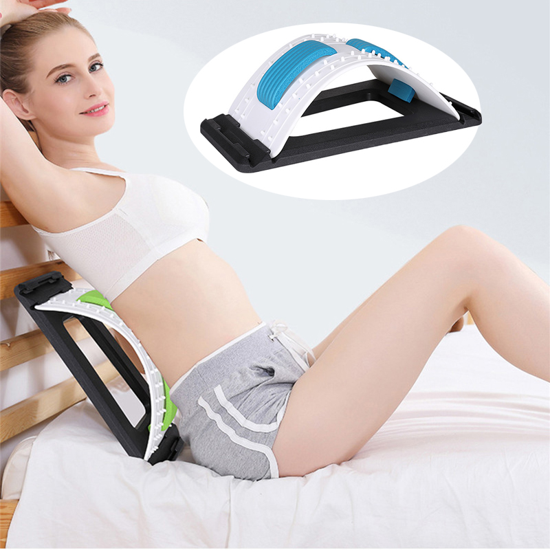 Back Massage Acupressure Stretcher Fitness Equipment Stretch Relax Mate Stretcher Lumbar Support Spine Pain Relief Chiropractic